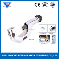 Aluminum alloy body tube cutter WK-670, tube cutter knife for 6-70mm copper pipe