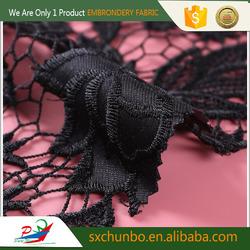 Textile supplier Top selling Fashion lace fabric for curtains