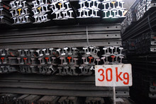 light rail of 30kg/m, 55Q, Q235