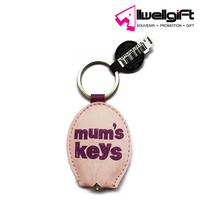 Reflective pvc keyring,customized key chain,pu led keychain