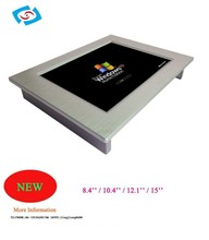 10.4 inch fanless Touch Screen Intel Atom D2550 1.86GHz Dual Core processor (PPC-104P)