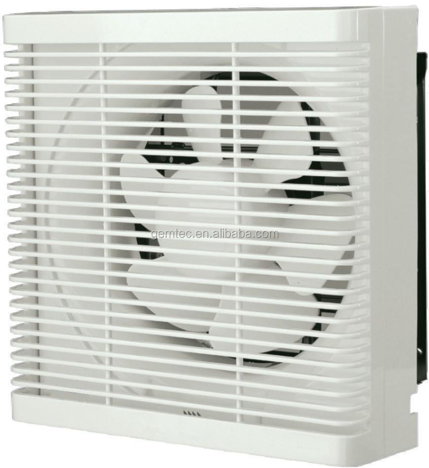Wall Mounted Square Shaped Exhaust Fan Available In Various Sizes 6 8 10 12 Inch