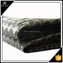 high quality polyester jacquard lining polyester fabric for backpacks luggage/bags