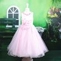 وصول جديدة! الوردي الساخن بيع فستان السهرة الكرة بثوب طويل eleent التسوق عبر الإنترنت للأطفال