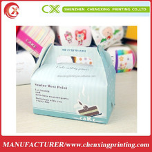 Custom traveling Gift packaging box food box