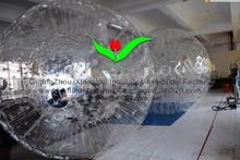 2015 UV-Resistant PVC or TPU inflatable human zorb ball game