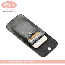 "5"" cell phone parts leather phone case"