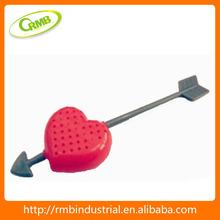 colador de té cuchara de té forma de corazón