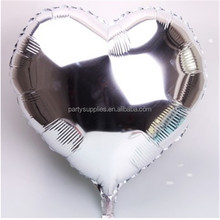 2015 New product high foil balloon heart shape aluminum helium Balloons Birthday Party Balloons