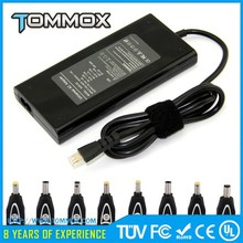 TOMMOX TM Auto switch Multi tips for universal adapter fit for different laptops with 40 tips output 12-24V