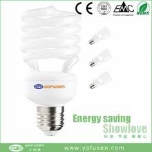 SAA 13w day light T2 half spiral energy saver