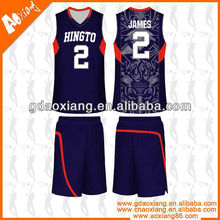 Hot selling Cool-max Basketball jersey/short