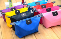 9 candy colors bulk plain trendy cheap wholesale fashion travel cosmetic bag