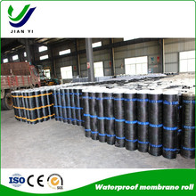 CE approved waterproof polyester material membrane price ,textured sbs waterproof roofing membrane