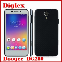 New Product Doogee LEO DG280 MTK6582 Quad Core Android 4.4 Mobile Phone 4.5 Inch 1GB RAM 8GB ROM 5MP 3G Cheap Android Phone