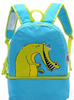 Waterproof children cartoon cooler backpack bag with detachable lunch box