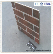 made in china ! ceramic brick pattern exterior wall panel