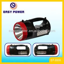 Orkia rechargeable bright light with two side light led torch EP - 8806
