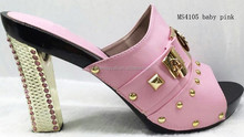 2015 2015 high heel women party shoes crystal pointed to bling bling shoes for women MS4105