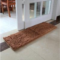 Ater absorbent kitchen floor mat faux fur mat