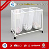 Movable silicone collapsible foldable laundry basket