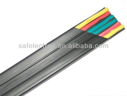 low voltage control cable Elevator Traveling Cable Cat6e 24core 0.75sqmm Bunch Core Flat Elevator Cable