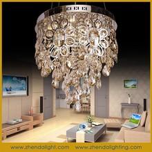 modern led crystal pendant lamp/Household chandelier light for dining room