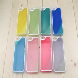 Dynamic Luminous Liquid Sand Quicksand Hard Case Cover For iPhone 6 Case