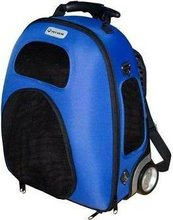 EVA pet carrier with wheels