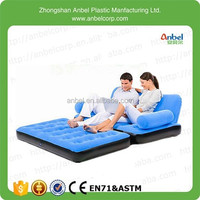 Anbel 2 In 1 Multi-functional Air Bed Inflatable Vlevet Couch Sofa Double Size