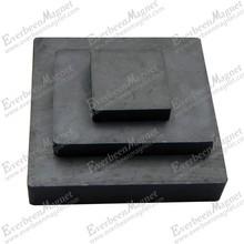 Best price rectangle Ferrite magnet