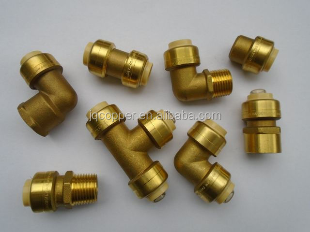 Lead free brass usa canada quick connect with pex copper