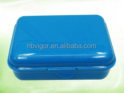 B10-0746 Wholesale Plastic 3 Compartment Lunch Box
