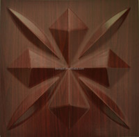 water proof embossed mdf 3d pvc wall panel