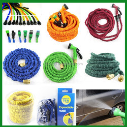 best selling products on amazon fabric garden hose with plastic hose hanger