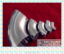 180 degree stainless steel bend pipe, U type joint pipe fittings, elbow
