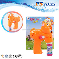 Funny Tiger Shape water bubbles/big led bubble gun