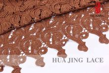 Lace Manufacturer Custom Logo Top Class Lace Fabric Curtain