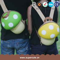 Mushroom shaped 2014 hot sale school backpack for teenage girls