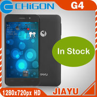 In Stock advanced Jiayu G4 MTK6589T 1.5Ghz Quad Core 4.7 inches Gorilla Glass Screen Android 4.2 Phone 3000mAh 2GB + 32GB