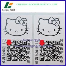 Top quality custom QR Code Adhesive Labels printing