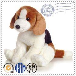 Super Soft Fabric Cute Dog Plush Toy , Custom Plush Toys , lush toy dog pet