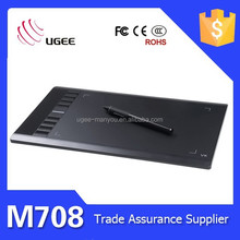 Graphic Pen Signature Pad Digital Signature Tablet 10 Inch 2048 Level Ugee M708
