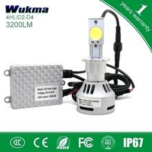 2015 Newest D series 3200lm led headlight D1 D2 D3 D4 6500K LED headlight bulb beam 12-24V