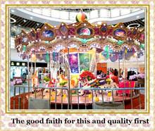 innovative amusement parks rides luxury carousel