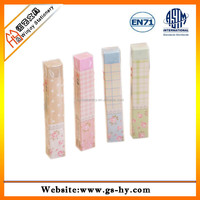 school supplies wholesale pvc or rubber eraser