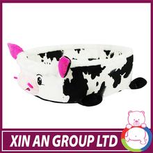 Dot Cow fabric dog bed animates dog beds
