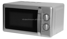 20L silver colour tabletop Mechanical Microwave Oven with GS/CE Basic models
