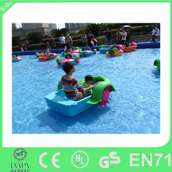 Handle kids funny aqua paddle boat price for sale