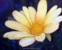 large Daisies flower oil painting